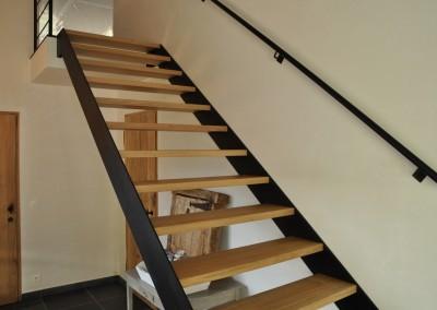 trap met houten treden 3