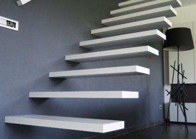 zwevende trap 2gr