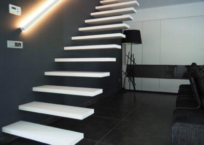 zwevende trap 3gr