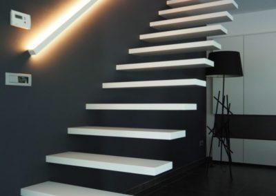 zwevende trap 4gr