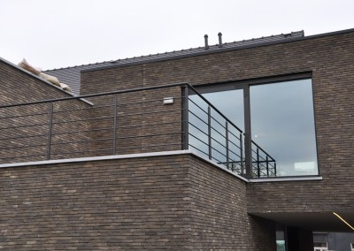 staal balustrade rond 2