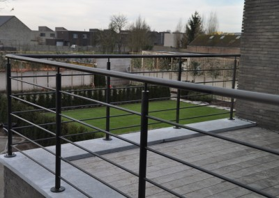 staal balustrade rond3